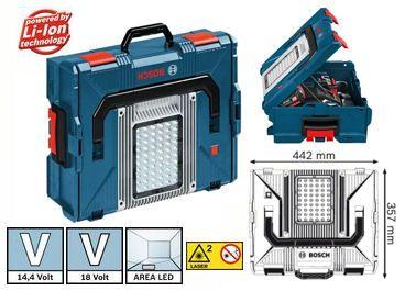 Bosch L Boxx Akkulampe Gli Portaled Garagenbau Bosch Werkzeuge Garagenwerkstatt