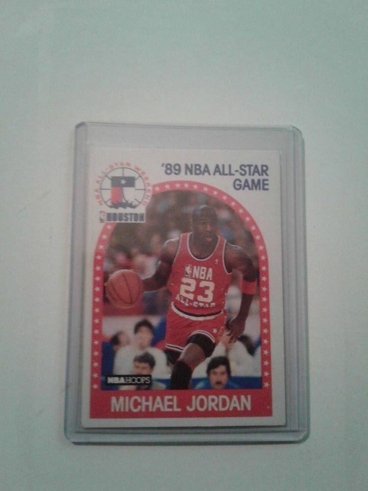 1989 nba all star michael jordan card 21 chicagobulls