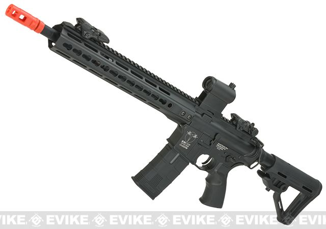 ICS CXP Pro Line Transform-4 265 Keymod Electric Blowback Airsoft AEG Rifle -- THIS looks great now that it's rear wired. From Evike.com