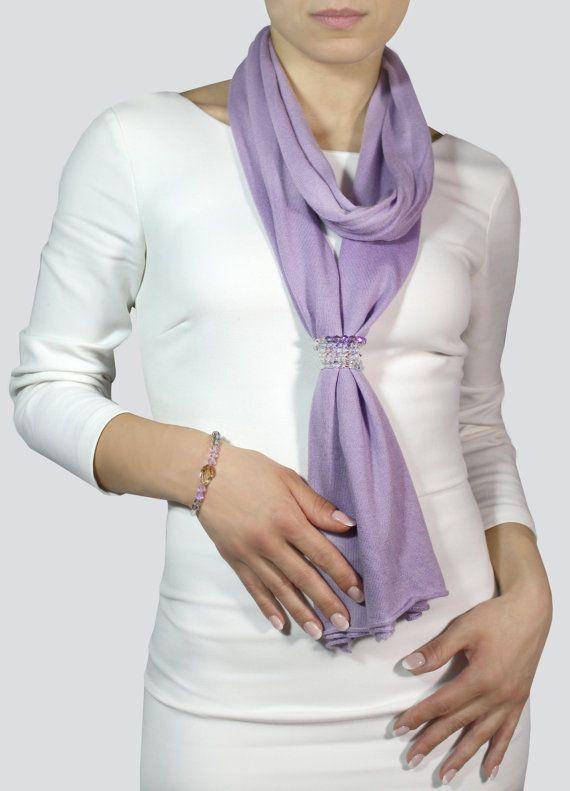 stili freschi check-out rilasciare informazioni su Elegant scarf, cashmere scarf, scarf with jewelry   Fashion ...