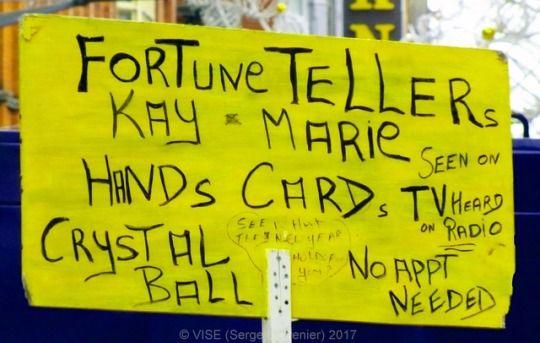 Fortune teller dublin