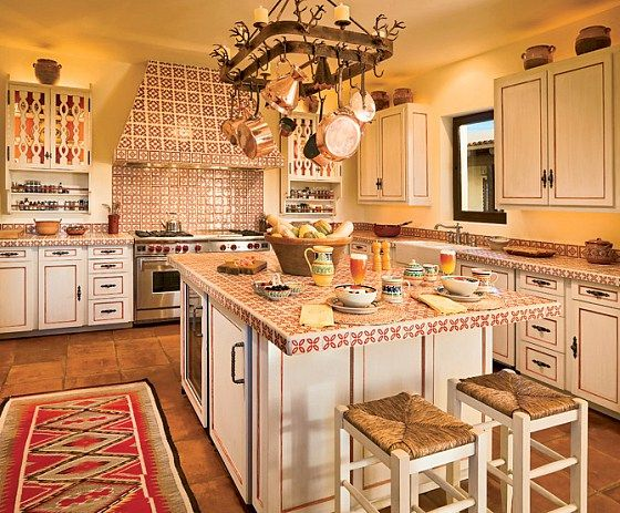 Spanish kitchen design ideas luxury elegant decor pictures for Luxury elegant kitchen designs
