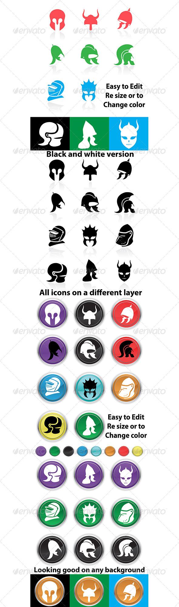 Helmet icons Icon, Icon helmets, All icon