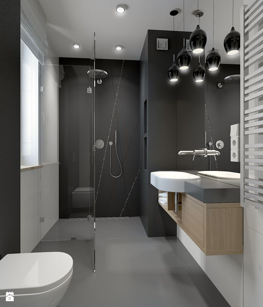 piękna łazienka  łazienka  Pinterest  Loft bathroom and ...