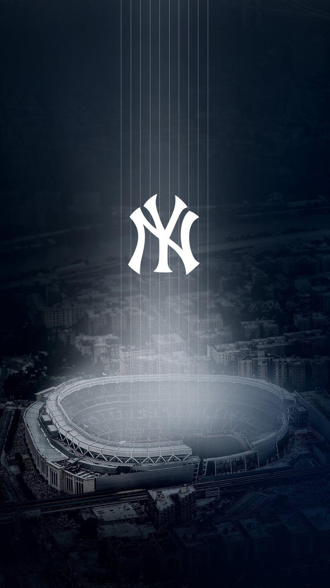 Pin By Maria Nimphius On New York Yankees With Images New York Yankees Stadium New York Yankees Baseball Yankees Poster