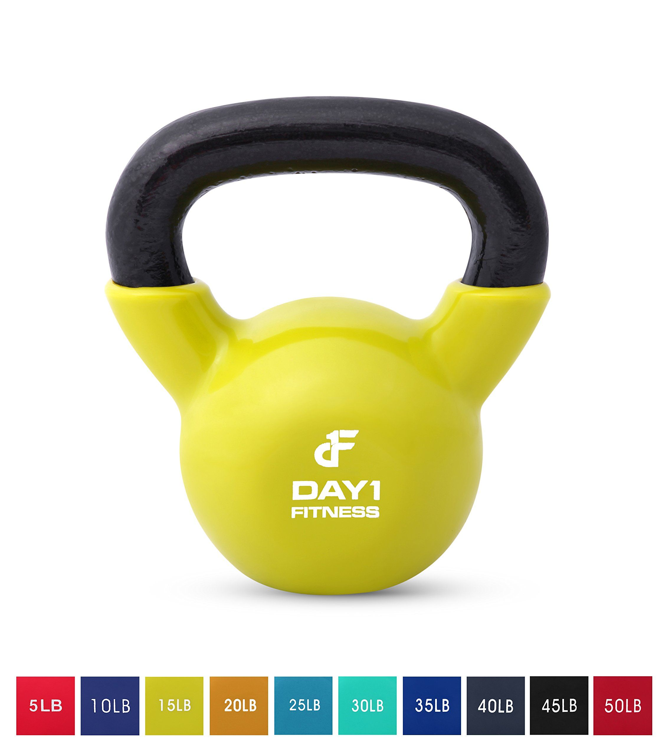 Day 1 fitness kettlebell weights iron kettlebells with