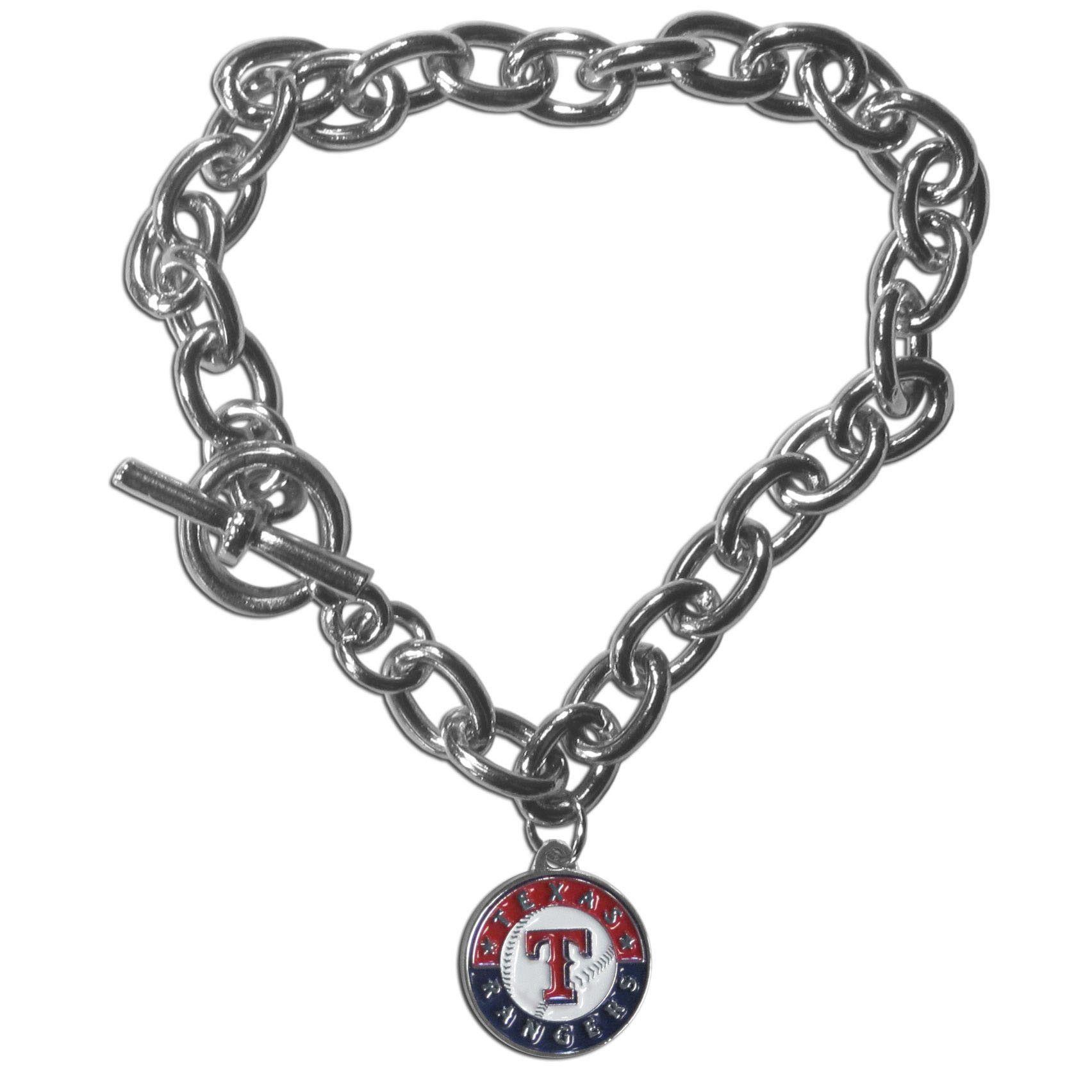 Texas Rangers Charm Chain Bracelet