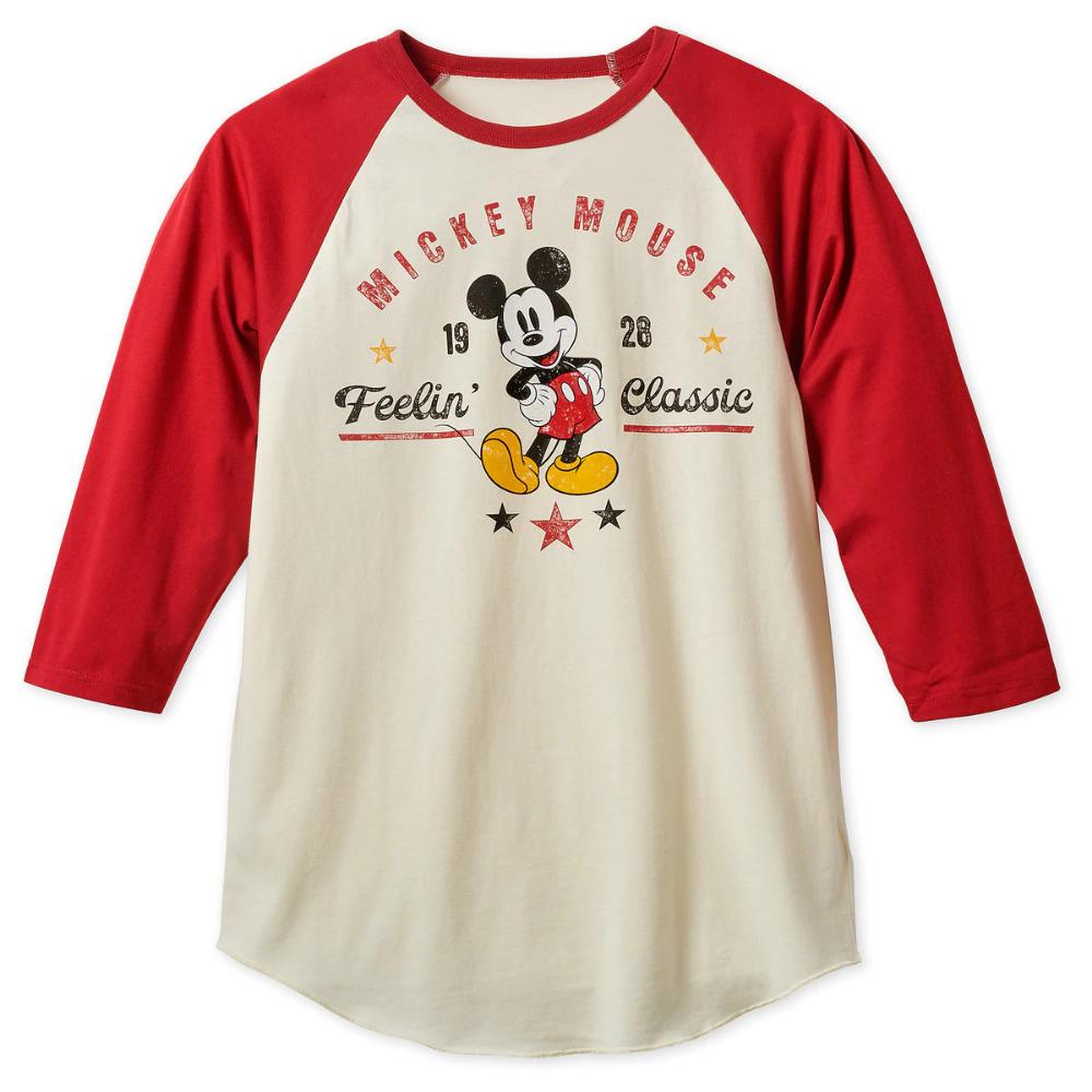 Mickey Mouse Feelin Classic Baseball T Shirt For Men Shopdisney Disney Shirts For Men Baseball Tshirts Mens Tshirts