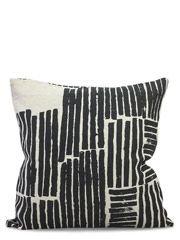 kissen logs black 50x50cm wohnung inspirationen pinterest kissen wolldecke und schwerpunkte. Black Bedroom Furniture Sets. Home Design Ideas