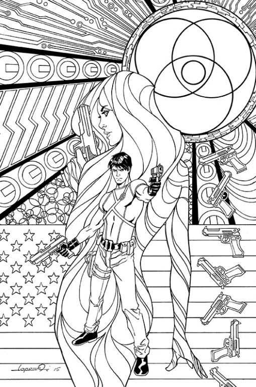 DC Coloring Book variant cover | DC Comics Coloring Book | Pinterest ...
