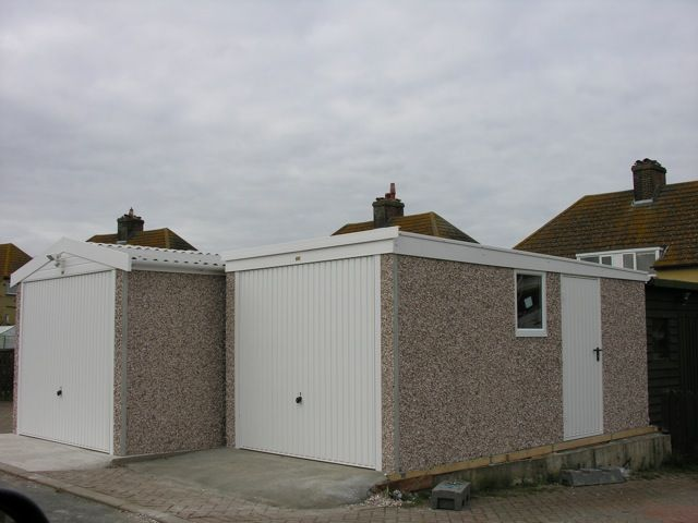 Beautiful Lidget Design And Build Pent Roof Garages To Suit Your Needs. Concrete Shed  And Workshop Options.
