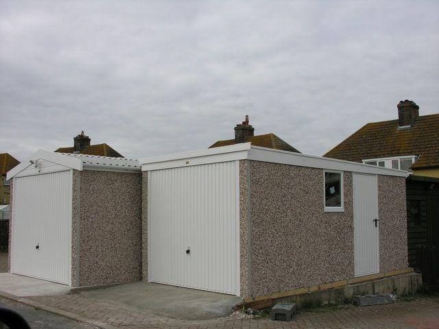 Best Pent Roof Concrete Garages Concrete Garages Garage 400 x 300