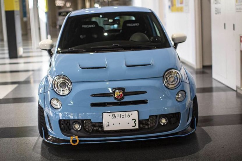 Threehundred 300 Jdm Widebody Abarth Bonnet Fiat Cars