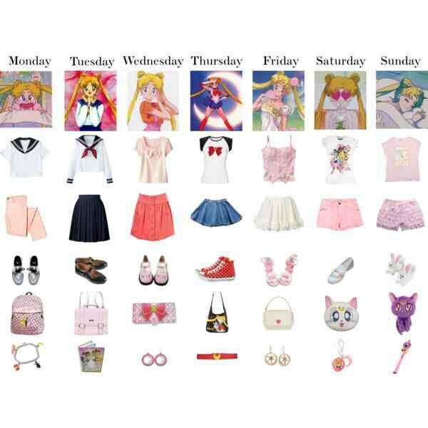 Sailor Moon Fashion Inspired | Fashion Inspired | Sailor ...