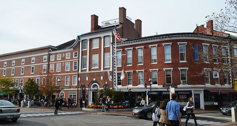 A Fall Visit To Downtown Portsmouth New Hampshire Portsmouth New Hampshire New Hampshire Portsmouth Nh