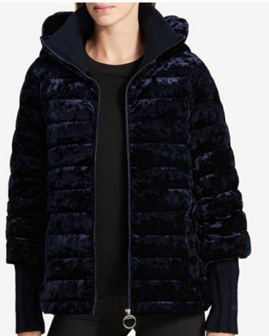 Dkny Women S Velour Velvet Puffer Jacket Mercari Jackets Puffer Jackets Velvet Hoodie [ 1105 x 886 Pixel ]