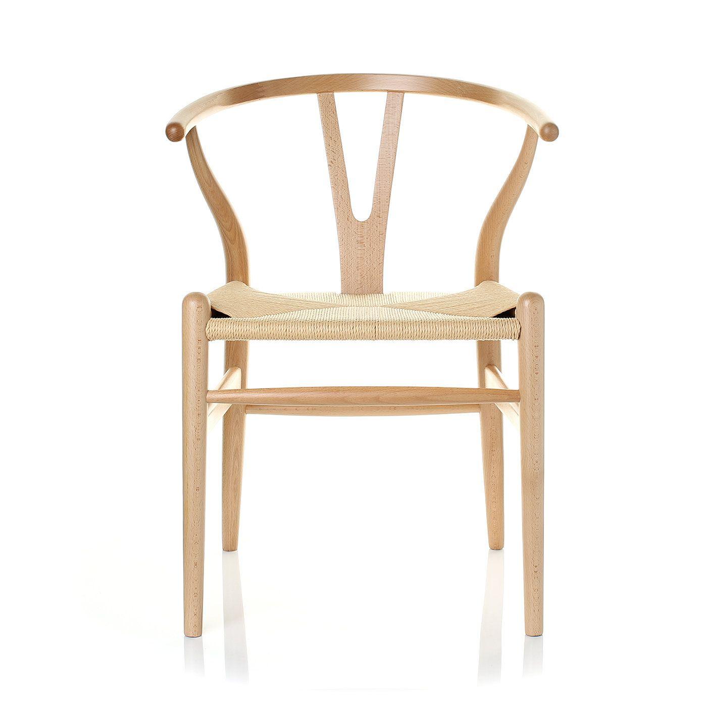 Hans j wegner ch24 wishbone y chair style side chairs