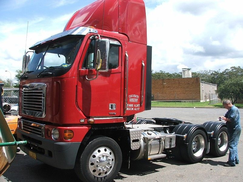 Freightliner Argosy Day Cab Freightliner Trucks Cab