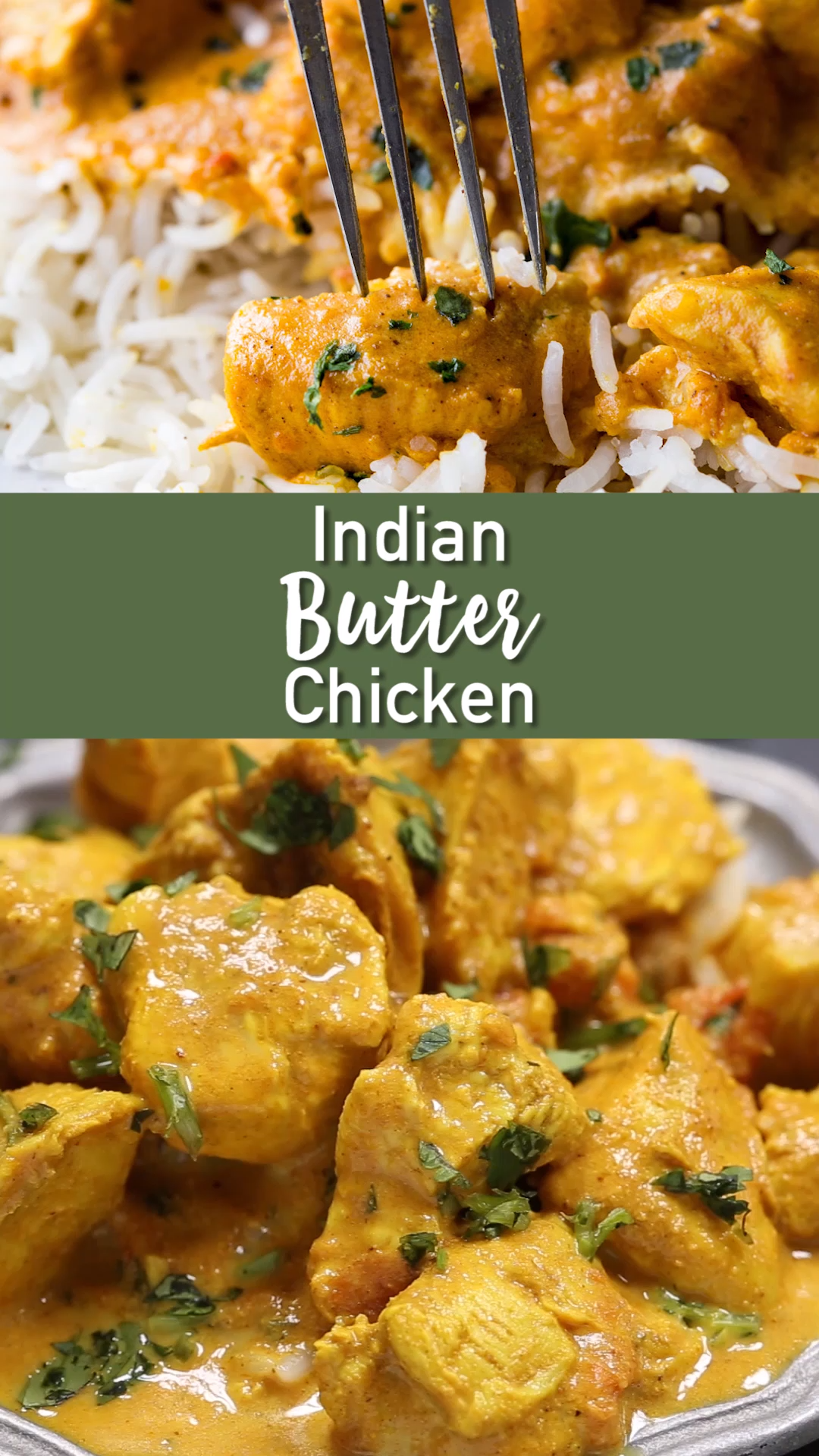 Sweet Butter Chicken Indian Recipe / Butter Chicken Recipe (Indian Style) - My Gorgeous Recipes ...