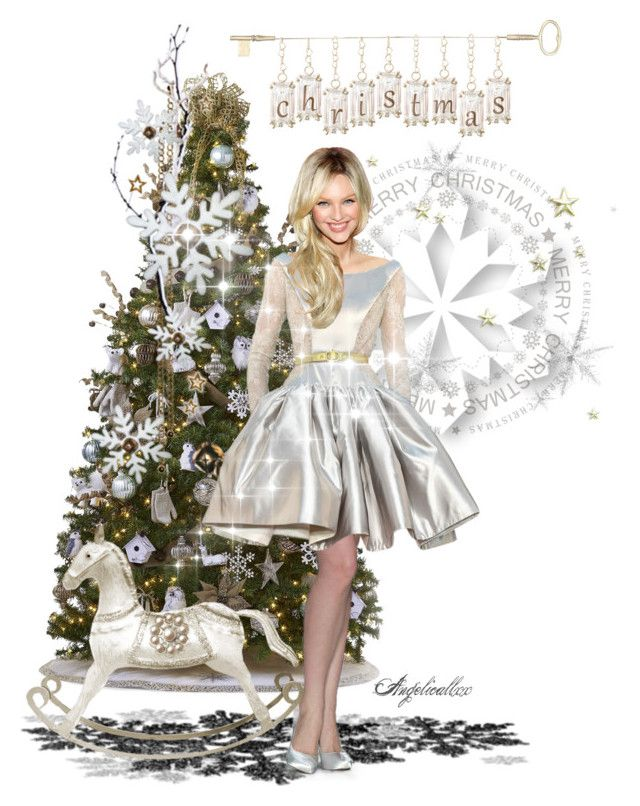 Be filled with wonder, be touched by peace by angelicallxx on Polyvore featuring art, doll and christmas2016