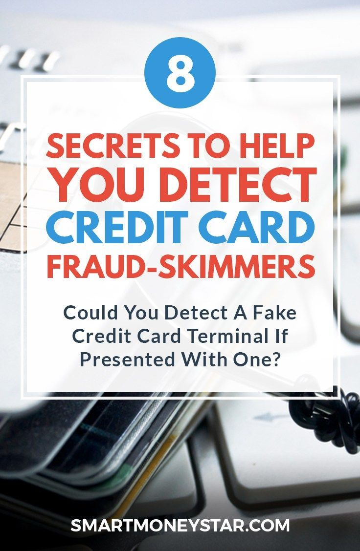 8 secrets to help you detect credit card skimmers and