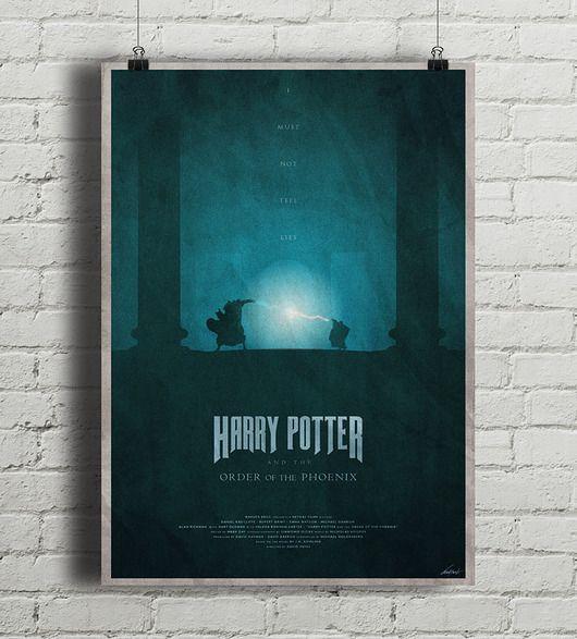 Harry Potter I Zakon Feniksa Plakat Pakamera Pl Harry Potter Potter Art