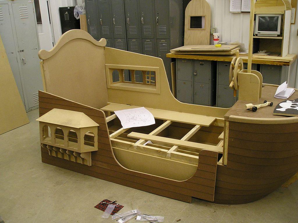 Pirate Ship Bed Bedroom Beds Bedding Pinterest