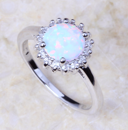 Opal Ring Accessories Opal Rings Opal Promise Ring Rings