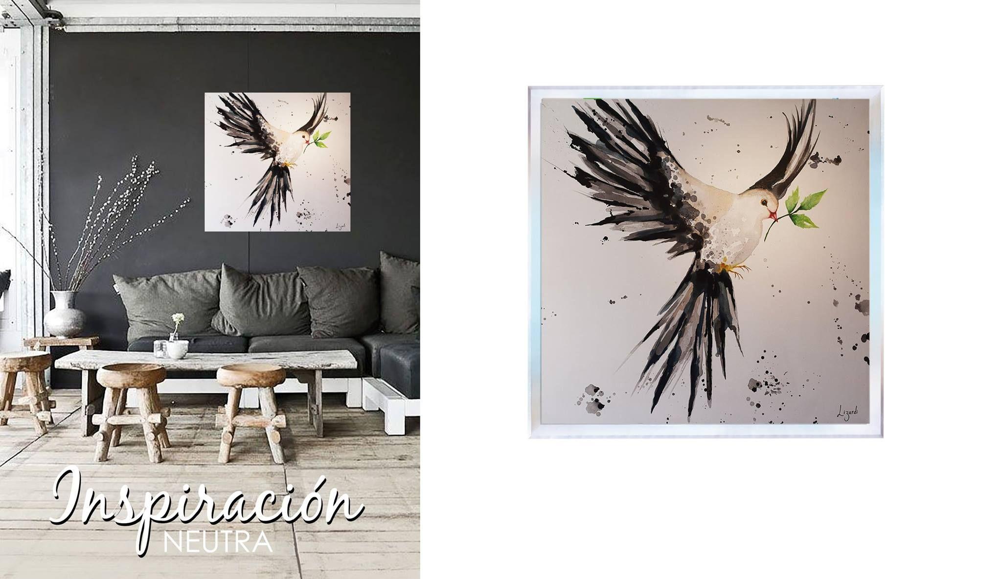 Obras al óleo: Mucha luz colores neutros, para personalidades inspiradas en el diseño. #amoeldiseño #lizardi