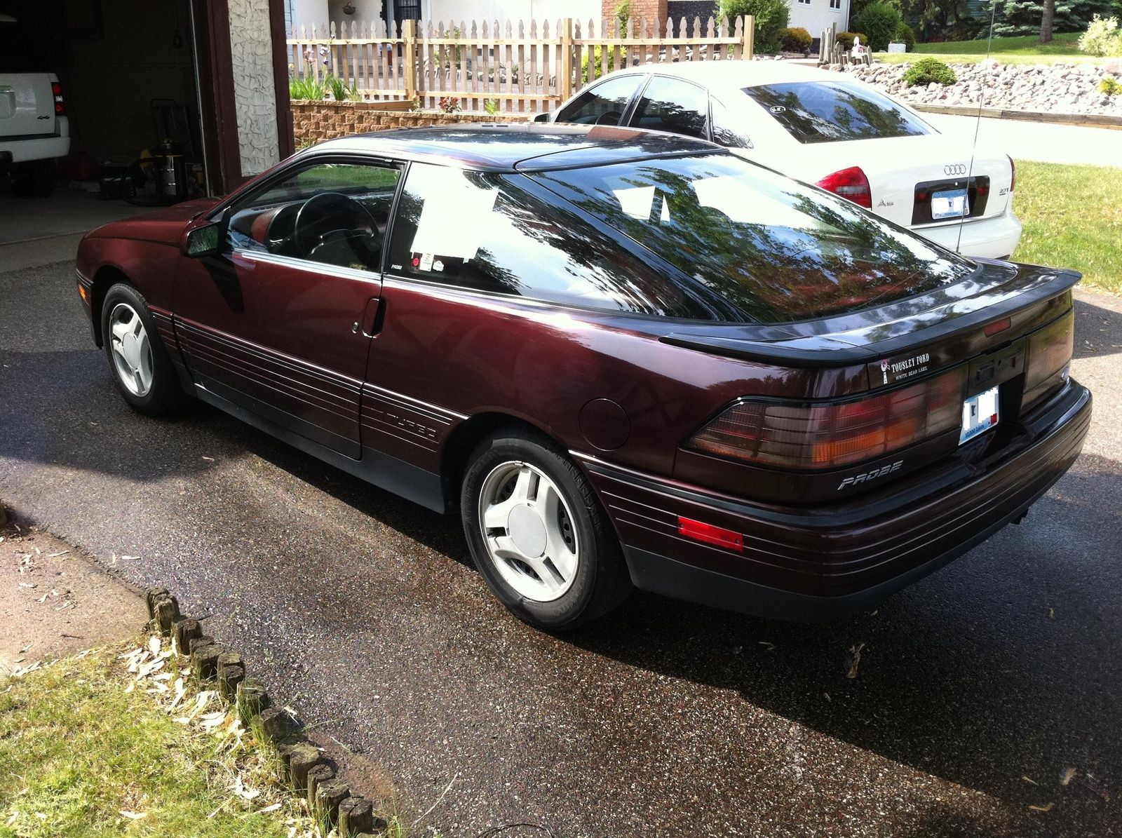 I had a 1989 Ford Probe GT just like this one, same