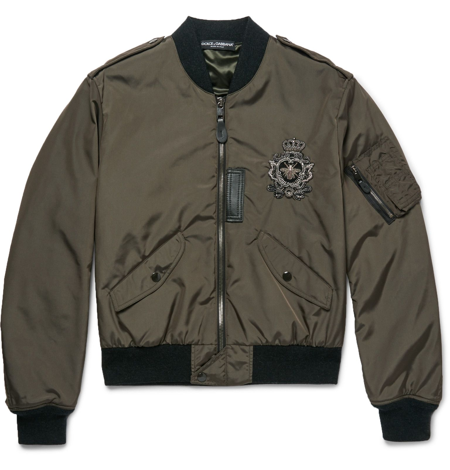 Coats and Jackets for Men | Designer Menswear. Green Bomber Jacket MensMens Military  Style ...