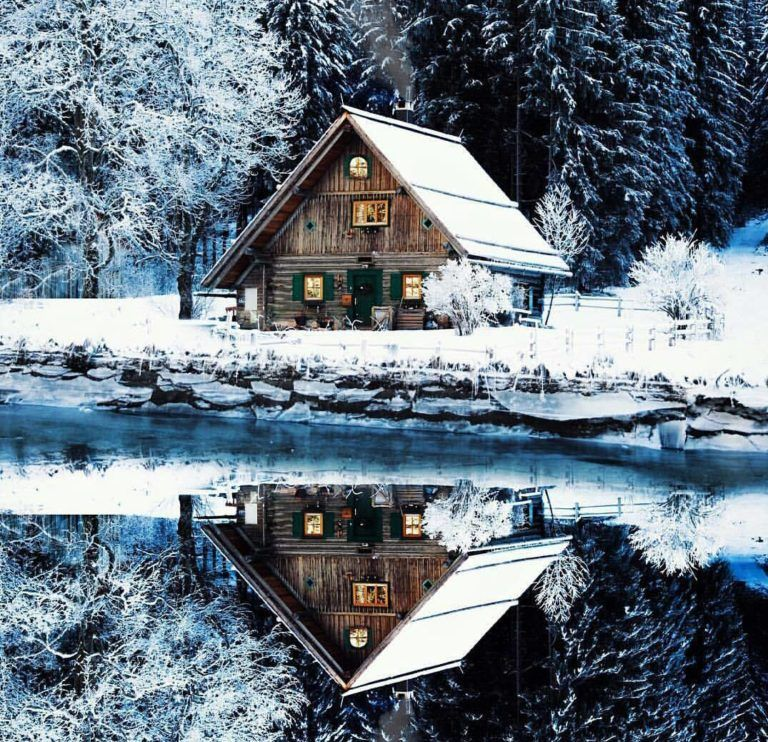 15 snow covered cabins that will make you want to retreat to the woods