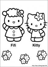 Hello Kitty Coloring Pages On Coloring Book Info Hello Kitty Coloring Kitty Coloring Hello Kitty Colouring Pages