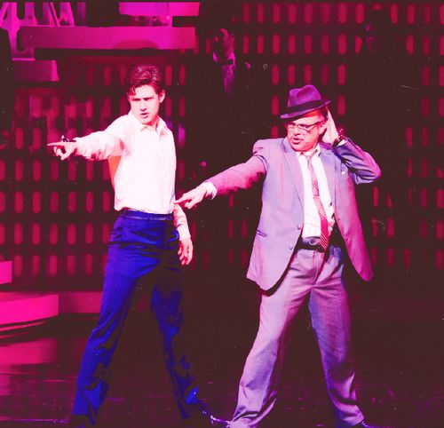 Catch me if you can and my two fave Broadway men :)
