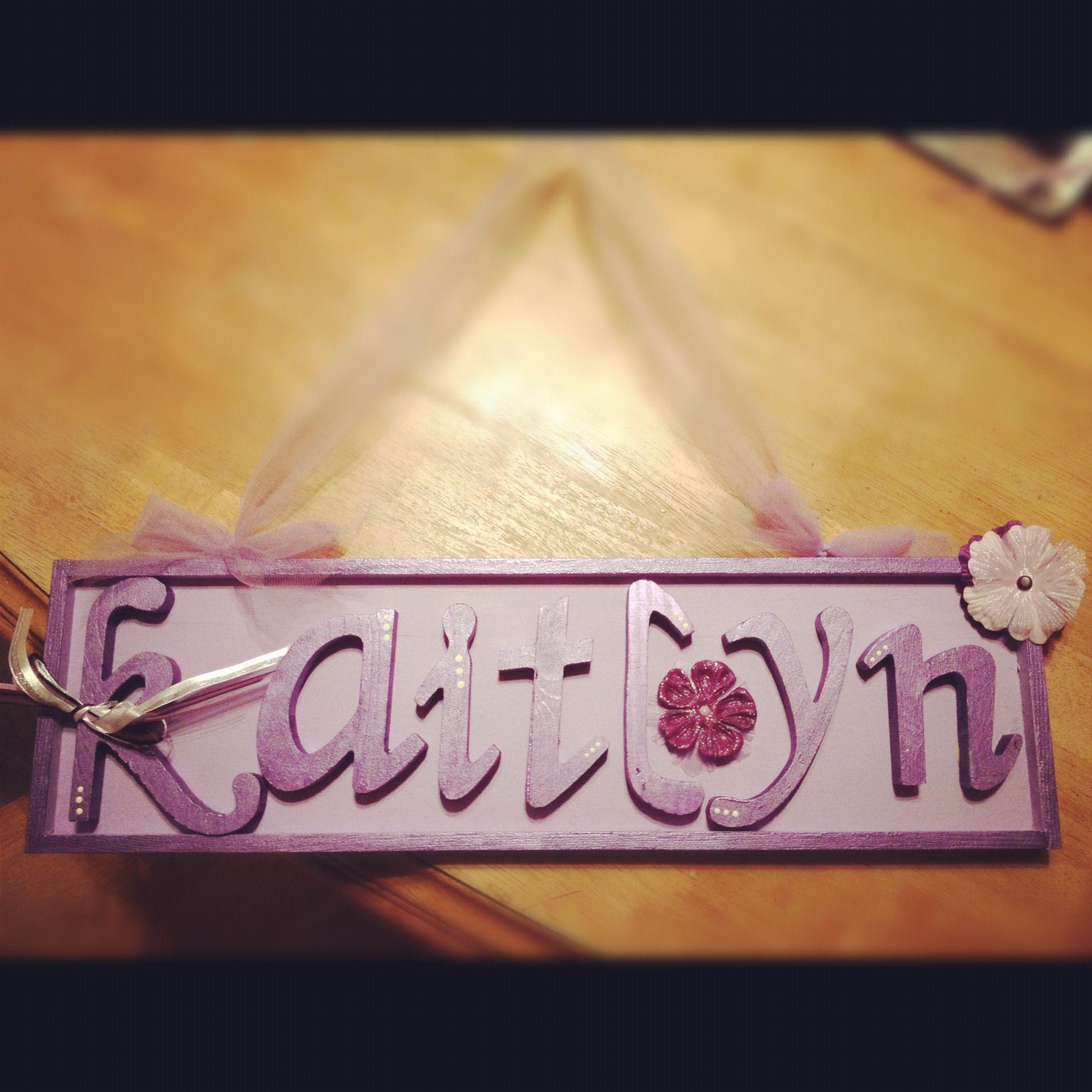 Kaitlyn sign Kaitlyn