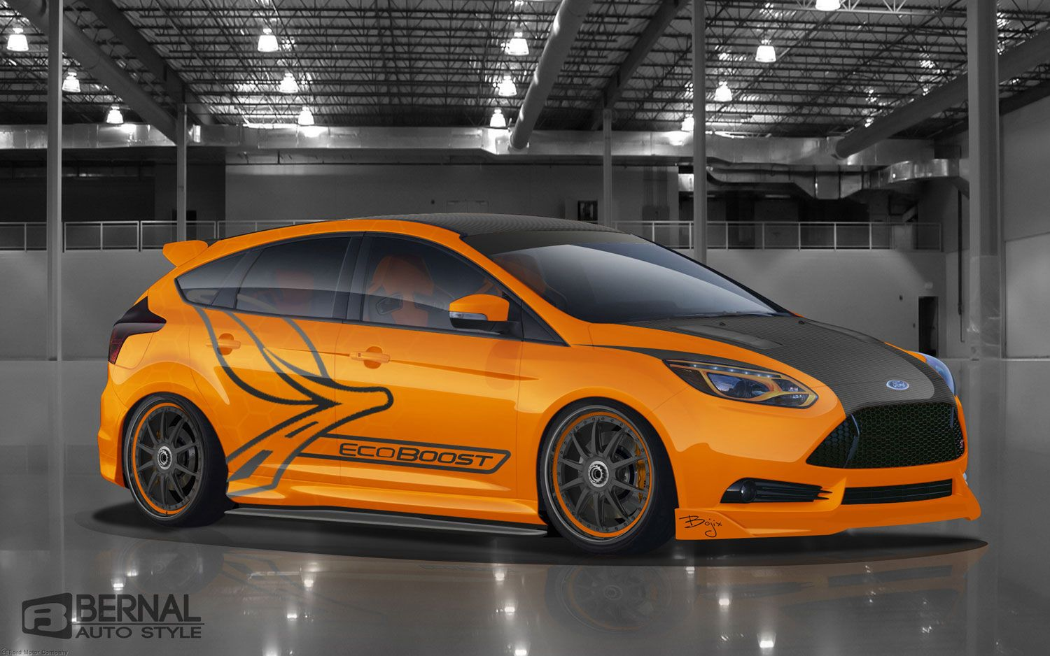 Customized 2013 Ford Focus St Show Cars Previewed Ahead Of Sema