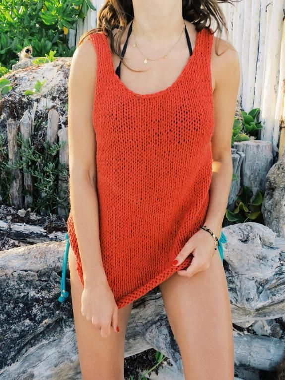 Knit Tank Top Patterns for Summer | Pinterest | Knitted tank top ...
