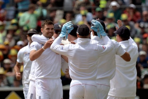 Two wickets for no runs in successive overs helped to keep England's cricketers competitive on a fluctuating opening day of the second Ashes...