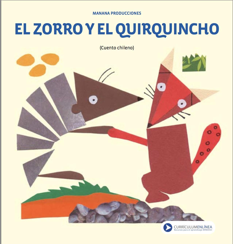 El zorro y el quirquincho cuento chileno | armadillo | Pinterest ...