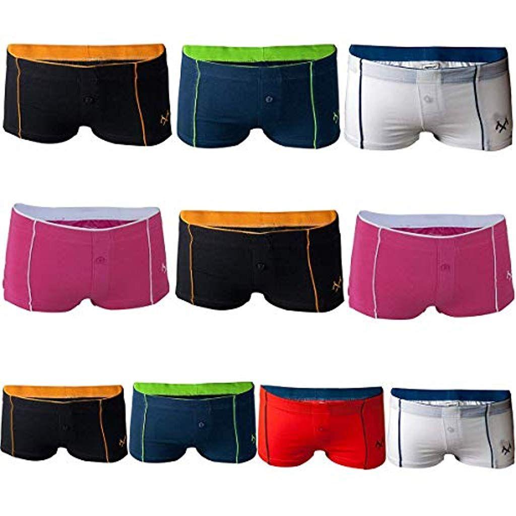 Sport 10 Coton Remixx Femme Culotte De Lot Boxer Shorty 1KJFcTl