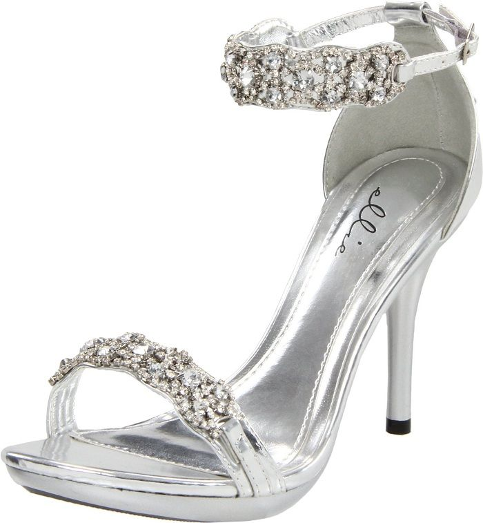 1000  images about Prom Shoes on Pinterest | Pump, Silver ...