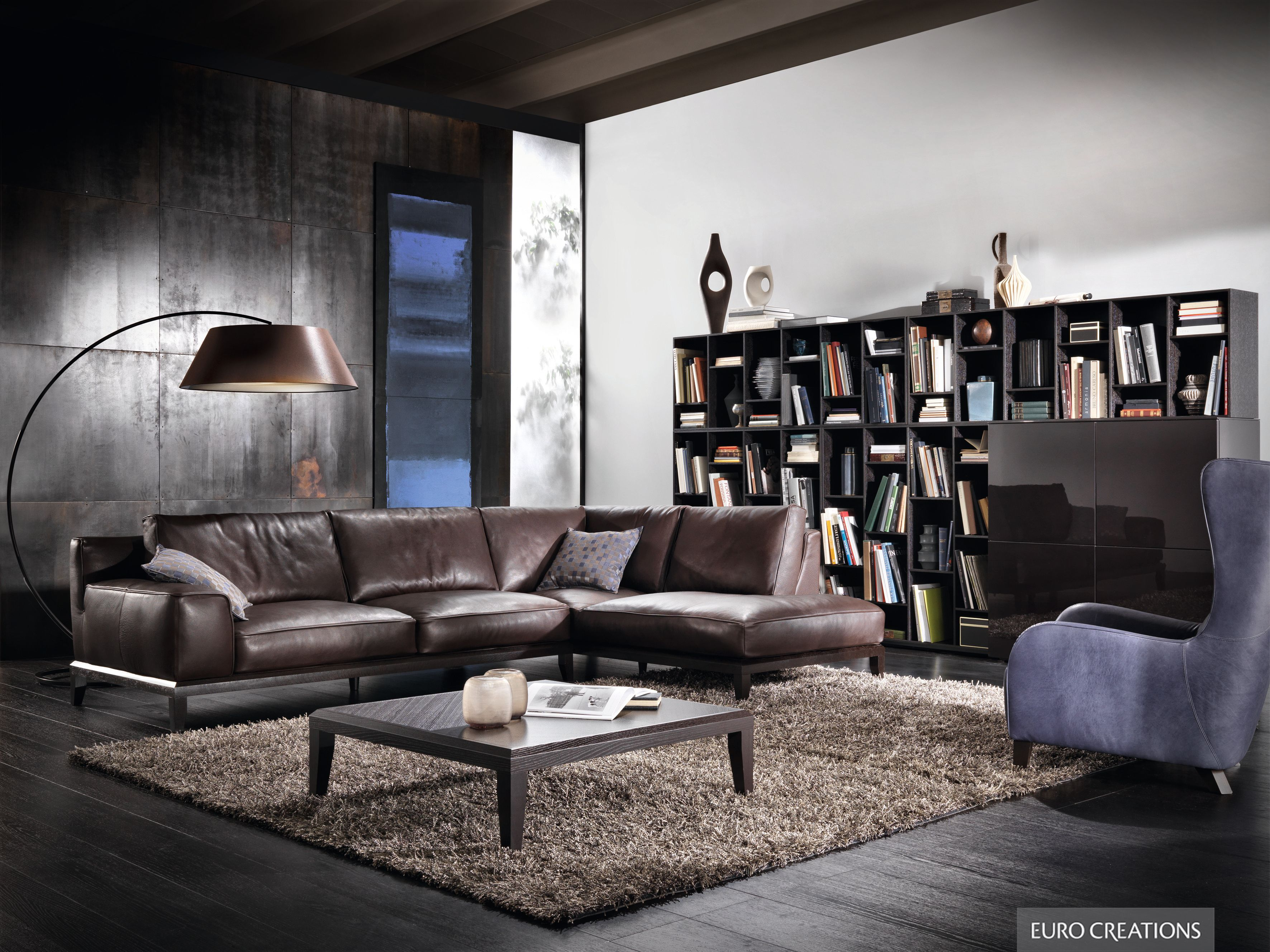 Natuzzi Opera Sofa leather available at EuroCreations