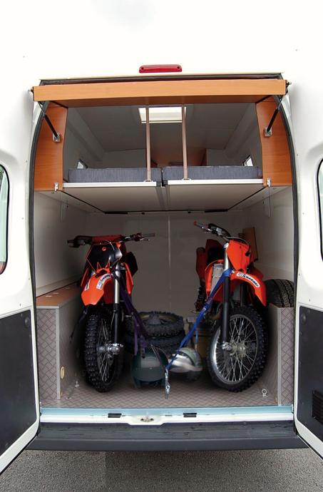 sprinter dirt bike conversion storage trailer sprinter rh pinterest com