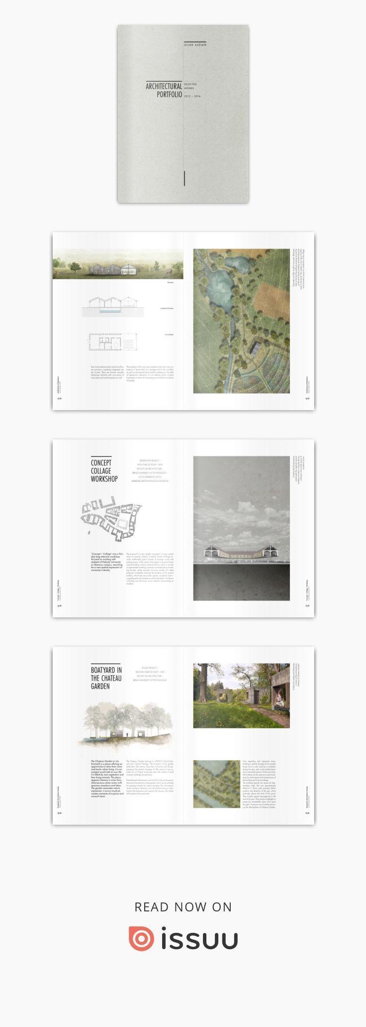 SCAD Undergraduate-Architekturportfolio – #portfolio #SCAD #UndergraduateArchite…