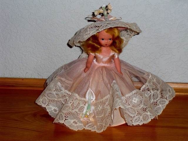 """Nancy Ann Storybook Doll 411 Girl of My Dreams.  This may be one of the """"Hit Parade"""" series."""