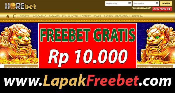 Horebet Freebet 10 Ribu Tanpa Deposit Artofit