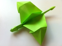 Photo of Origami Dragon Instructions and Diagram