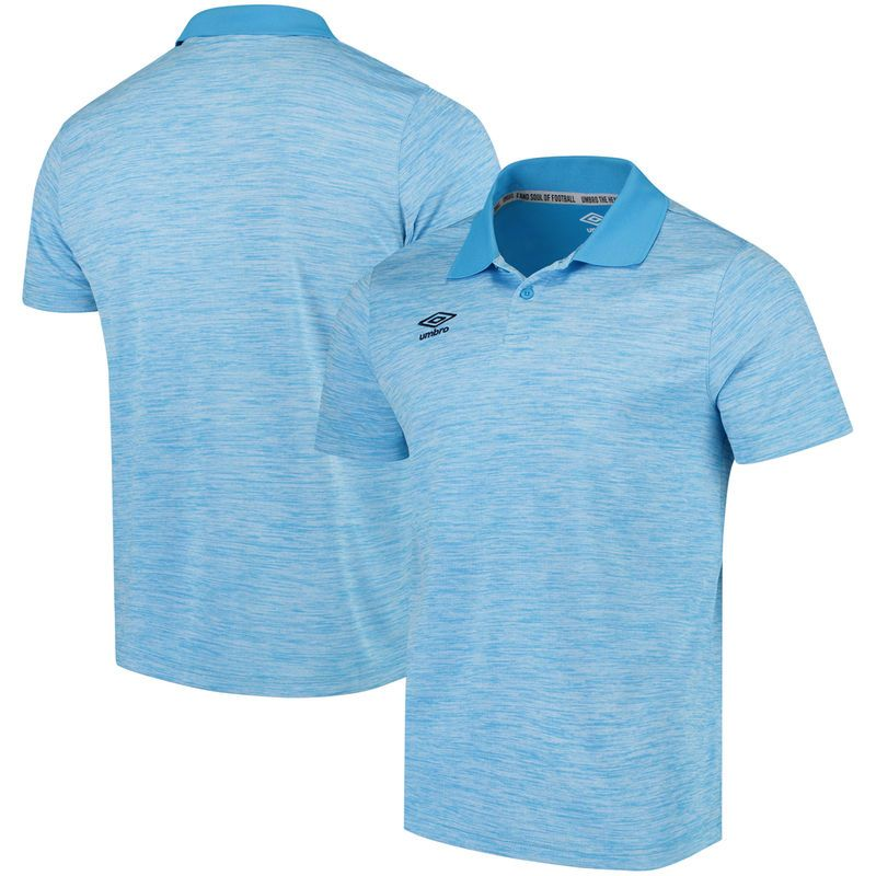Umbro Polo - Heathered Blue