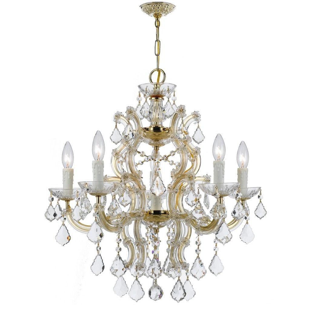 Crystorama Maria Theresa Collection 6-light /Swarovski Strass Chandelier