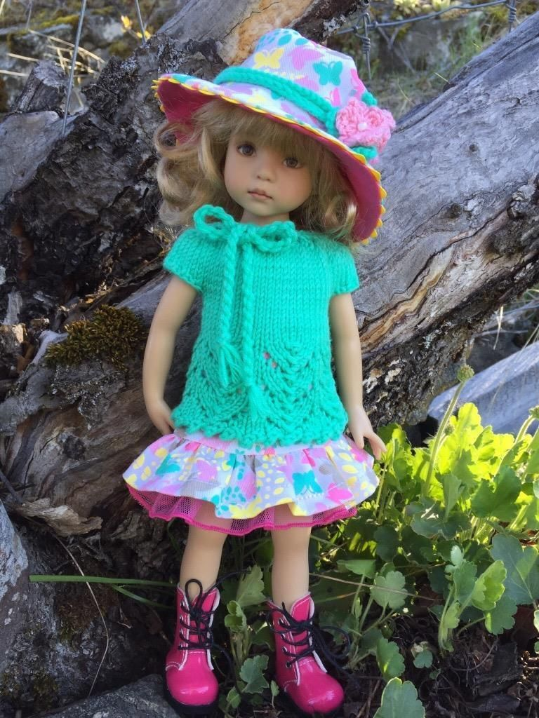 """Skip Into Spring by Tuula Fits 13"""" Dianna Effner Little Darling to A """"T""""   eBay"""